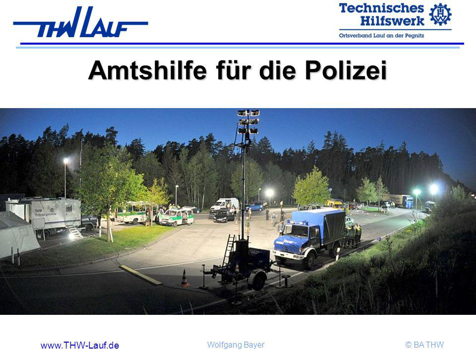 Amtshilfe für die Polizei
