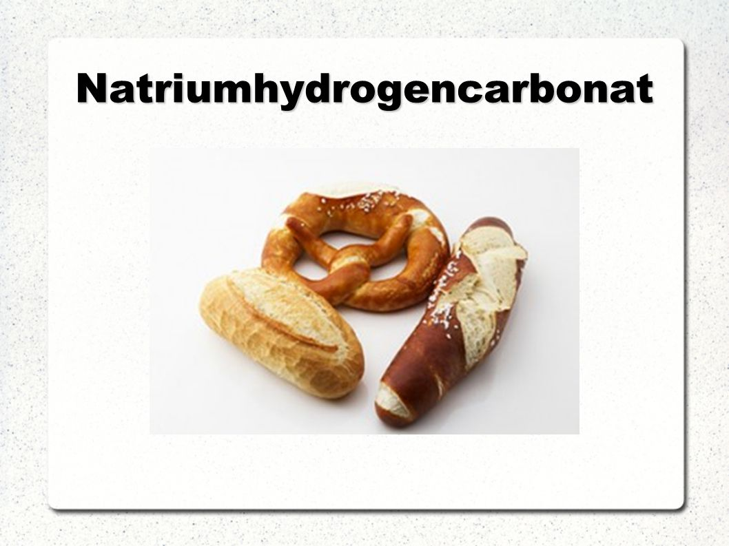 Natriumhydrogencarbonat