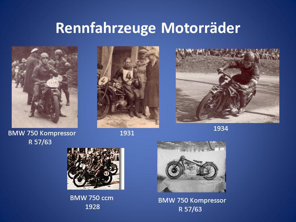 Rennfahrzeuge Motorräder