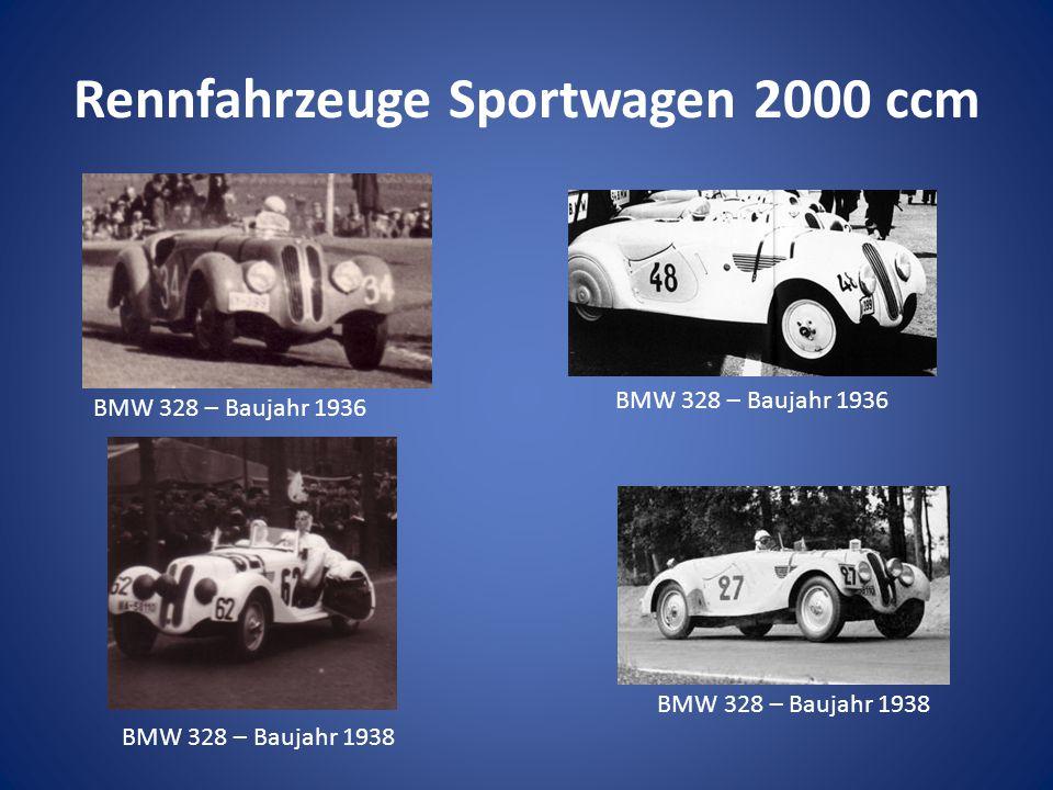 Rennfahrzeuge Sportwagen 2000 ccm