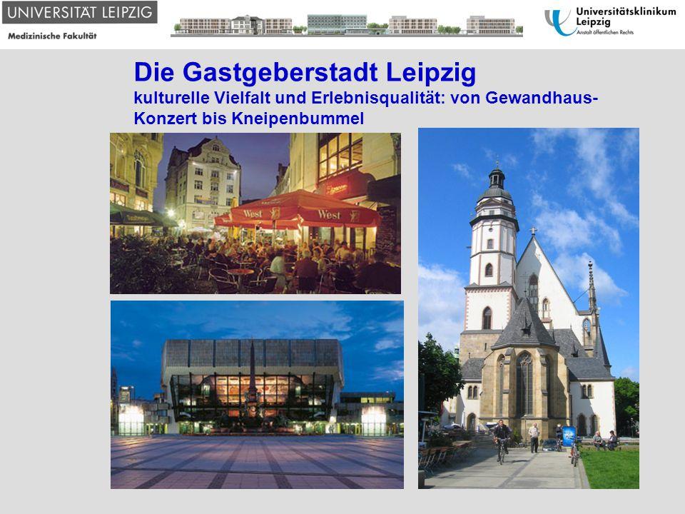 Die Gastgeberstadt Leipzig