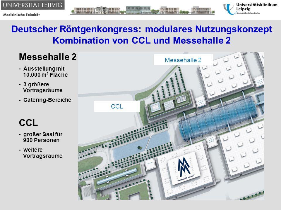 Deutscher Röntgenkongress: modulares Nutzungskonzept