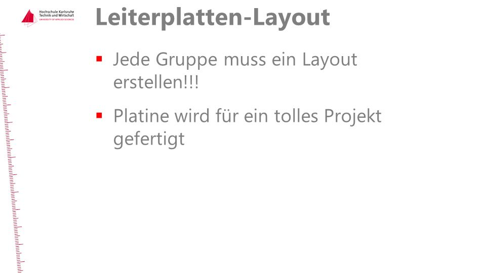 Leiterplatten-Layout