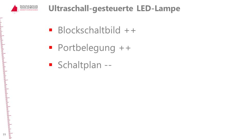 Ultraschall-gesteuerte LED-Lampe
