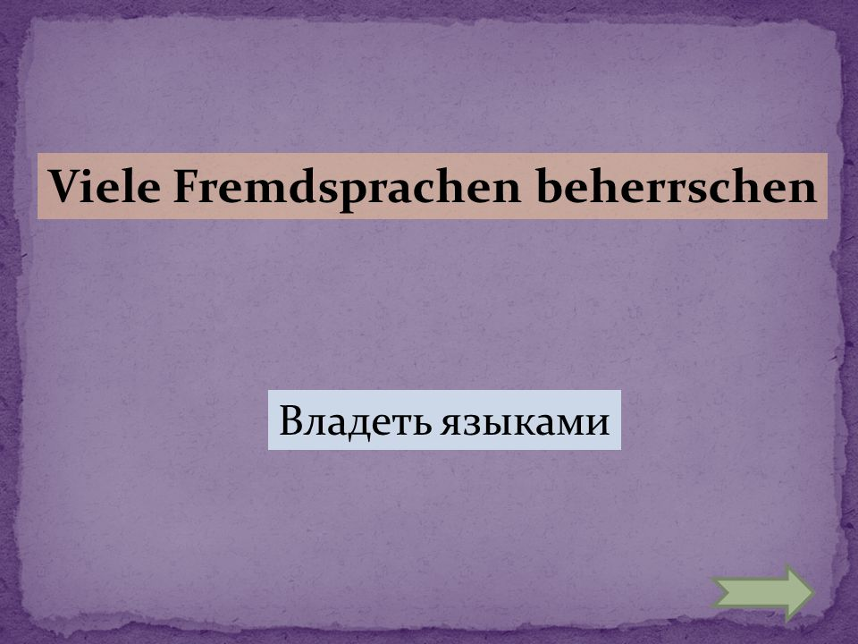 Viele Fremdsprachen beherrschen