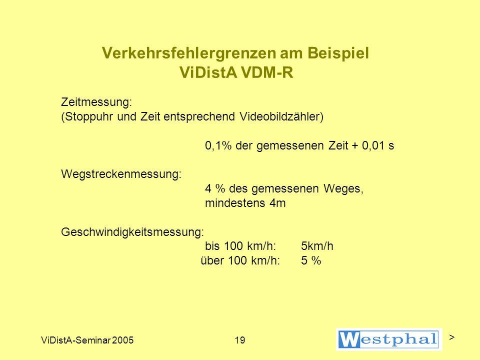 WeDistA Westphal-Distanz-Auswertung