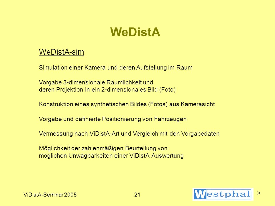 WeDistA WeDistA-digital