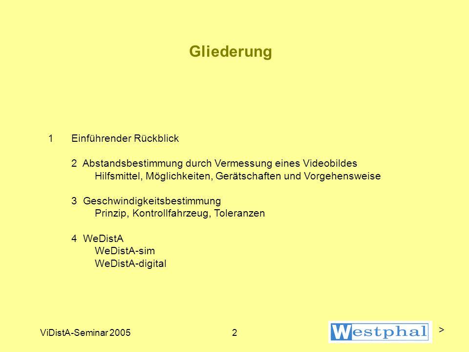 Einführung / Rückblick