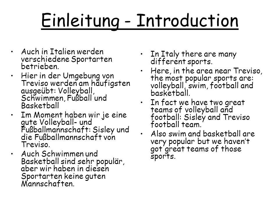 Einleitung - Introduction