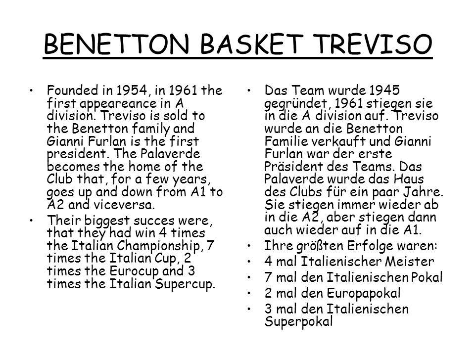 BENETTON BASKET TREVISO