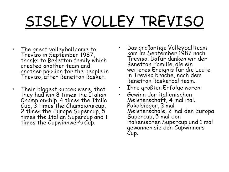 SISLEY VOLLEY TREVISO
