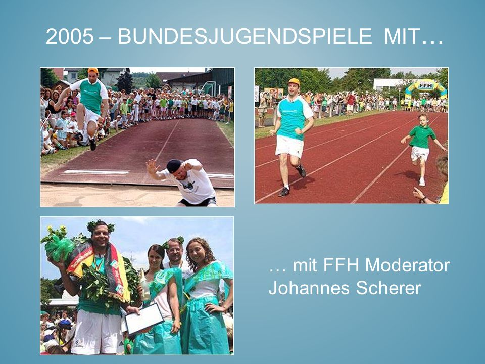 2005 – Bundesjugendspiele mit…
