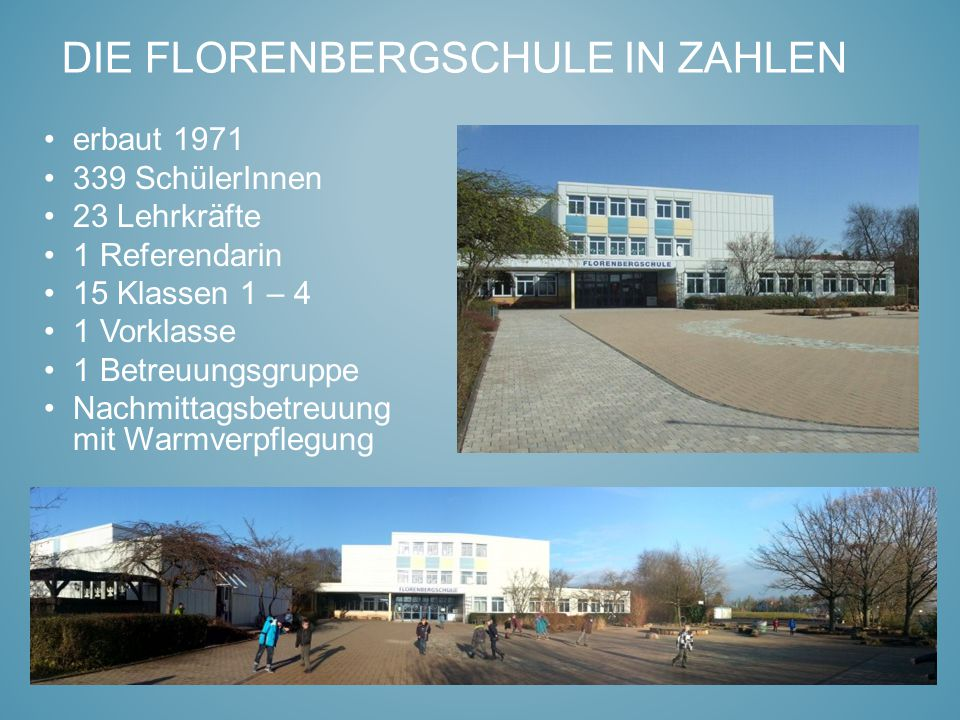 Die Florenbergschule in Zahlen
