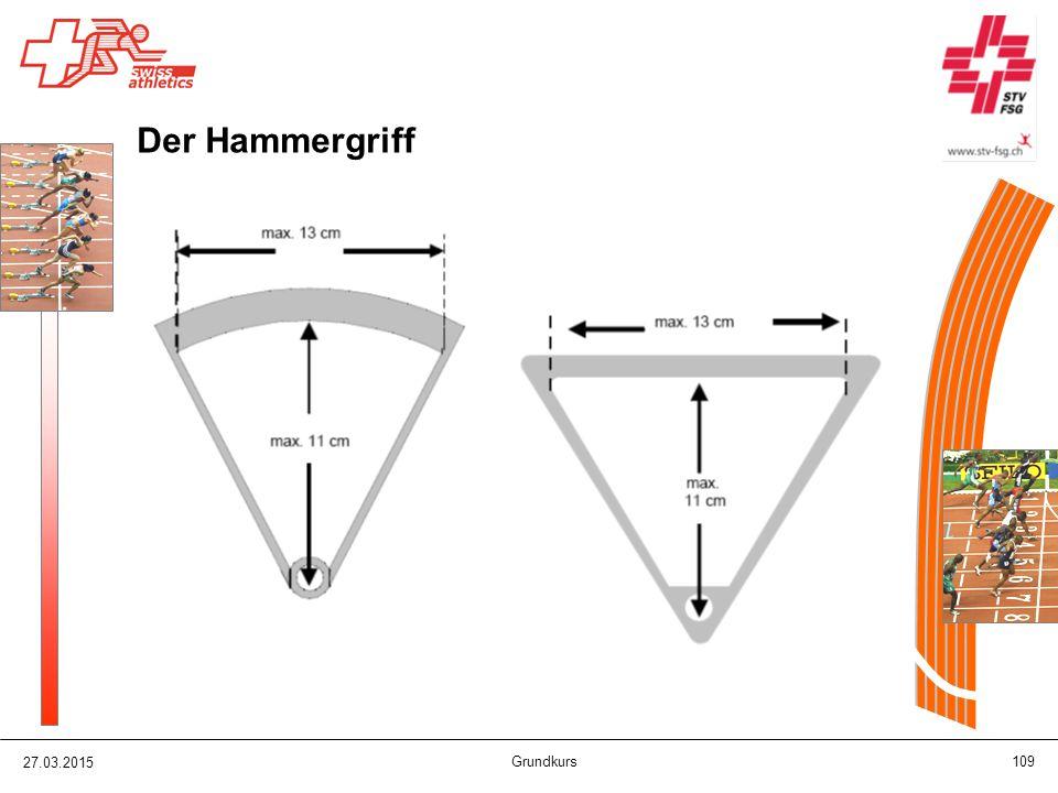 Der Hammergriff 08.04.2017 Grundkurs