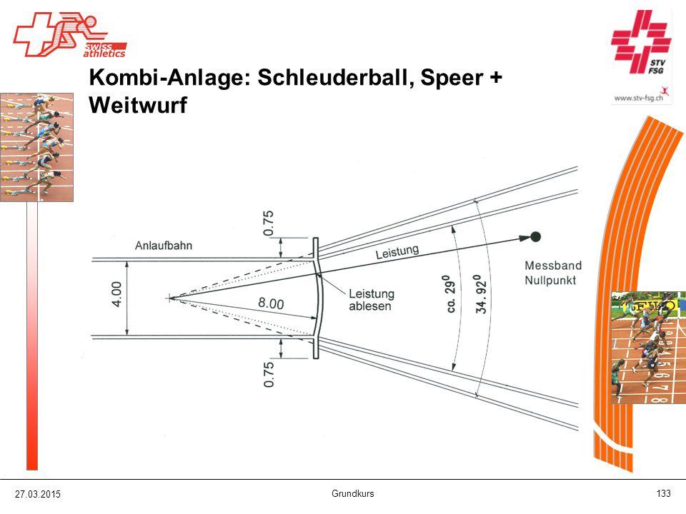 Kombi-Anlage: Schleuderball, Speer + Weitwurf