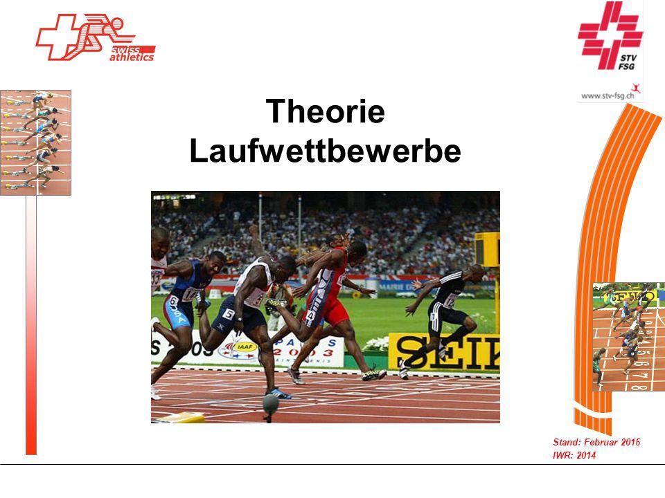 Theorie Laufwettbewerbe