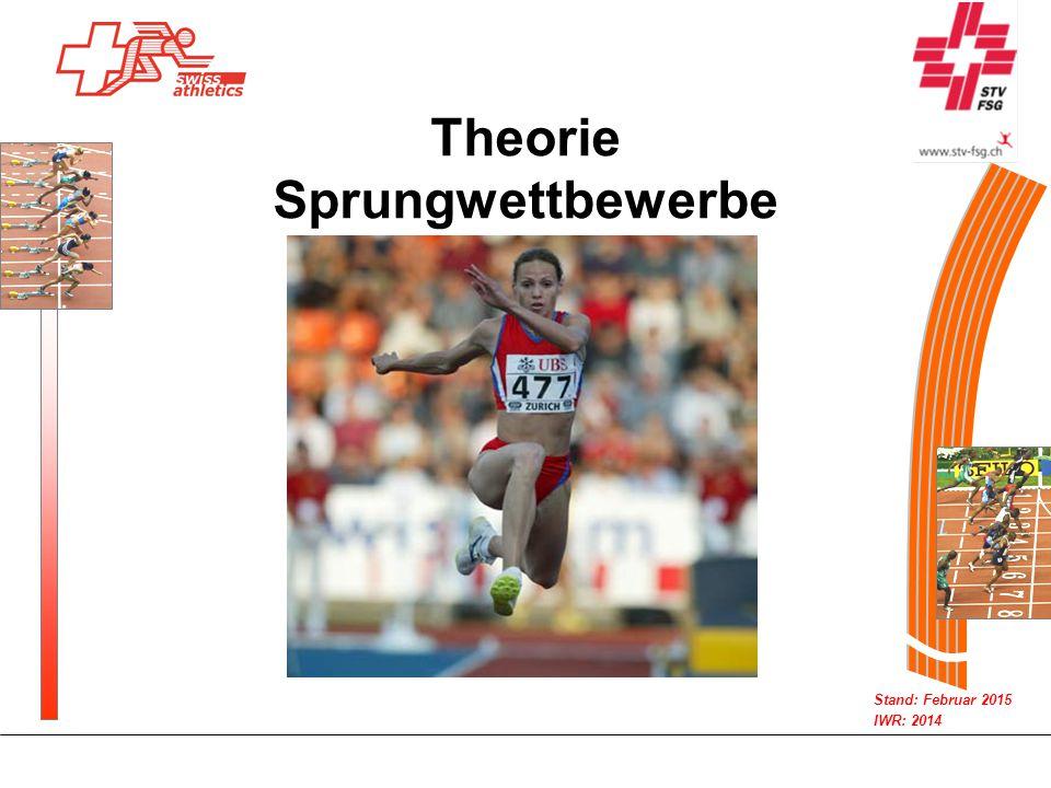 Theorie Sprungwettbewerbe