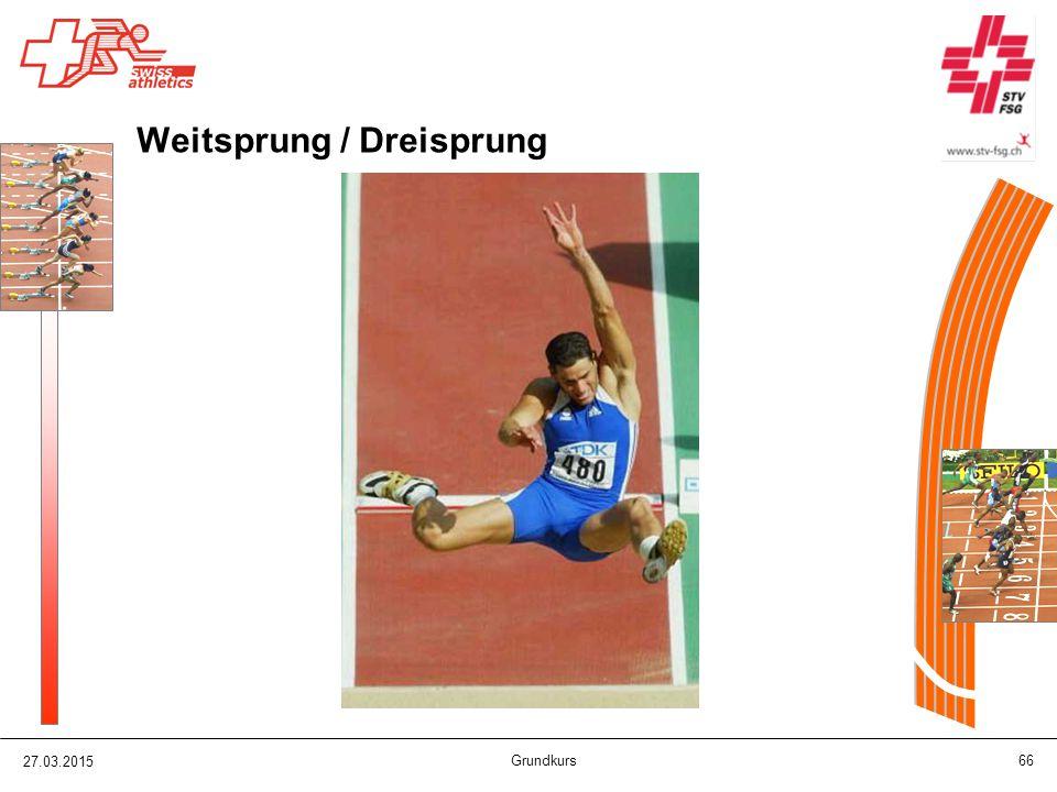 Weitsprung / Dreisprung