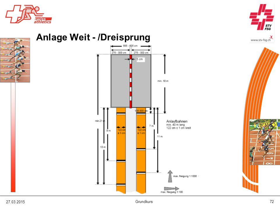 Anlage Weit - /Dreisprung