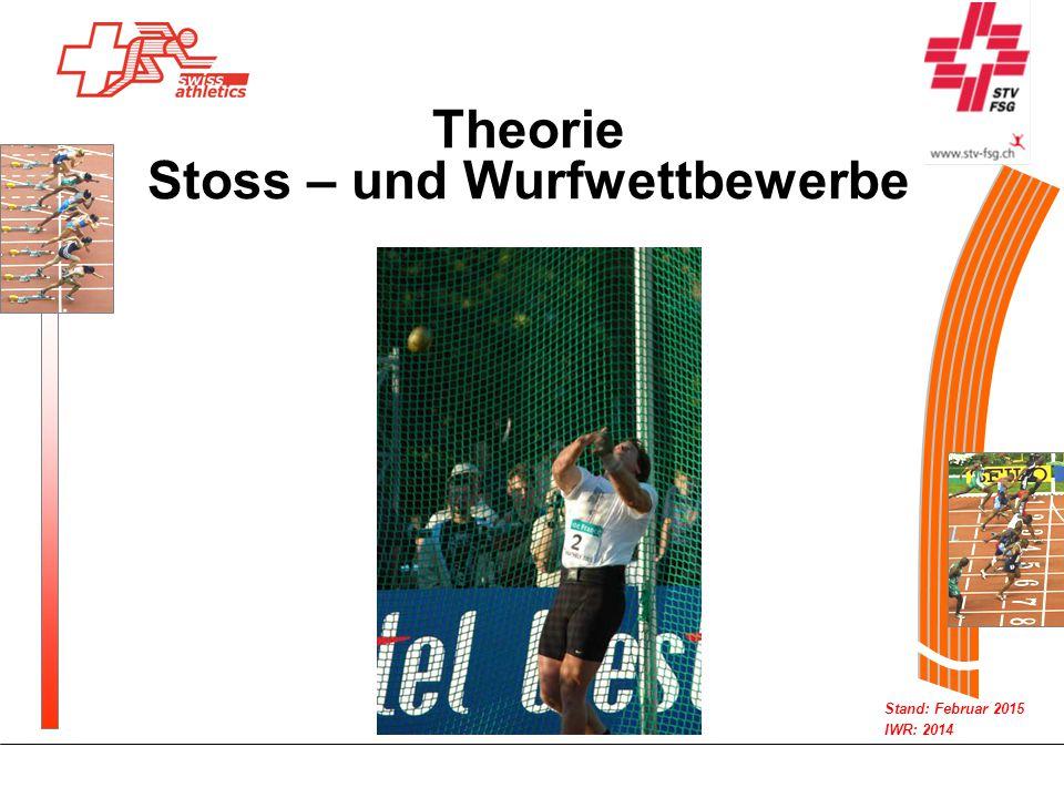 Theorie Stoss – und Wurfwettbewerbe