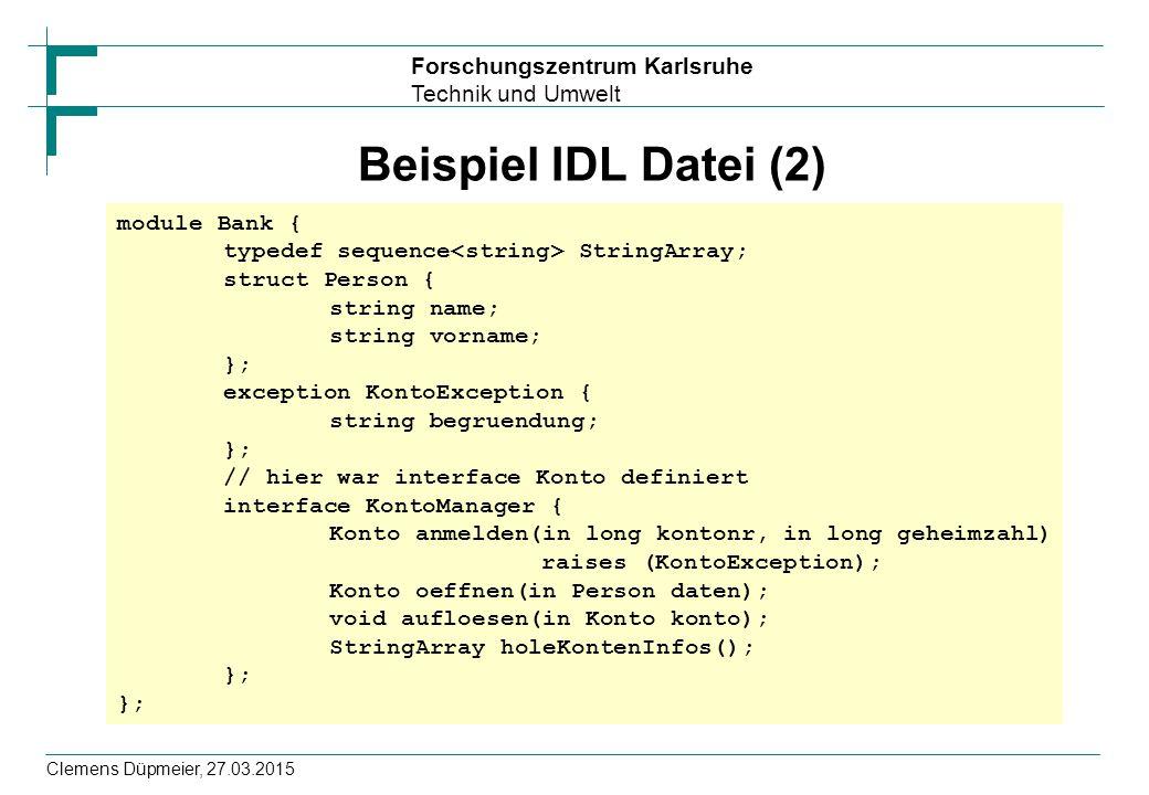 Beispiel IDL Datei (2)