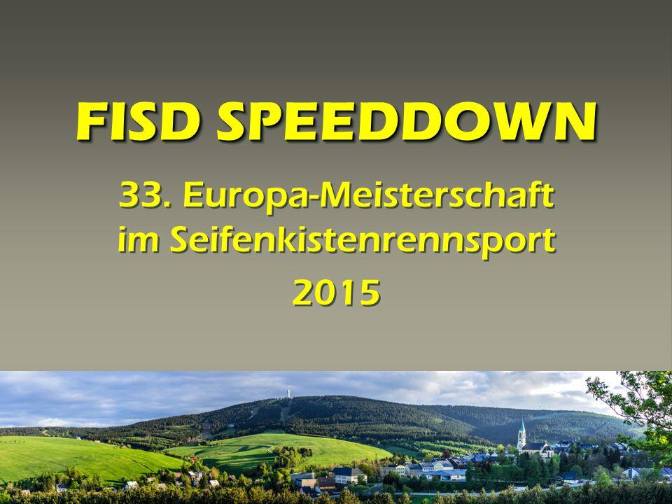 33. Europa-Meisterschaft im Seifenkistenrennsport 2015