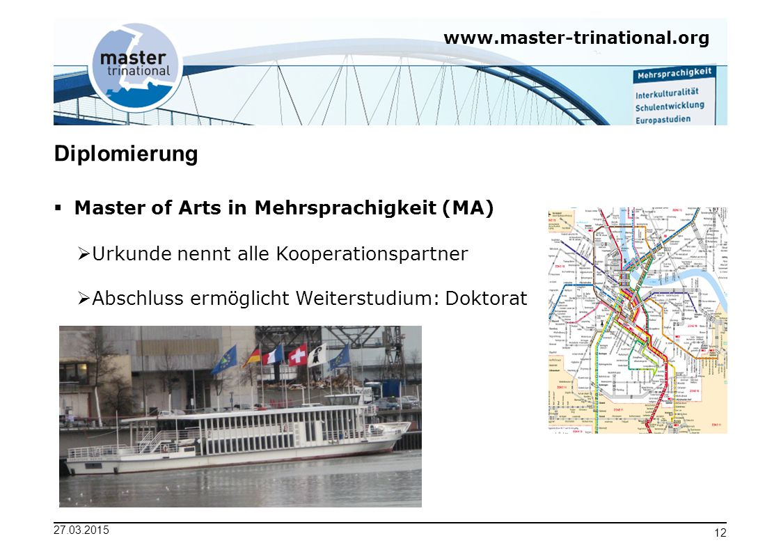 Diplomierung Master of Arts in Mehrsprachigkeit (MA)