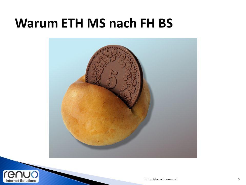 Warum ETH MS nach FH BS https://hsr-eth.renuo.ch