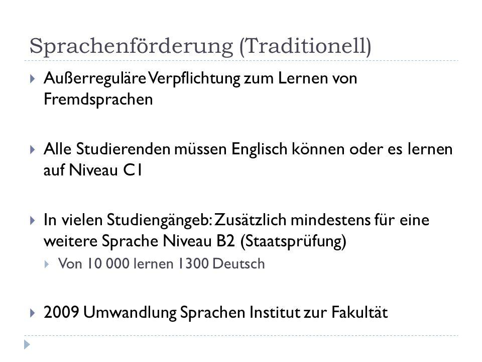 Sprachenförderung (Traditionell)