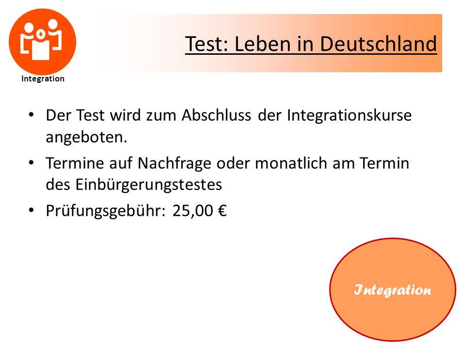 Test: Leben in Deutschland