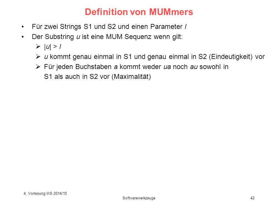 Definition von MUMmers