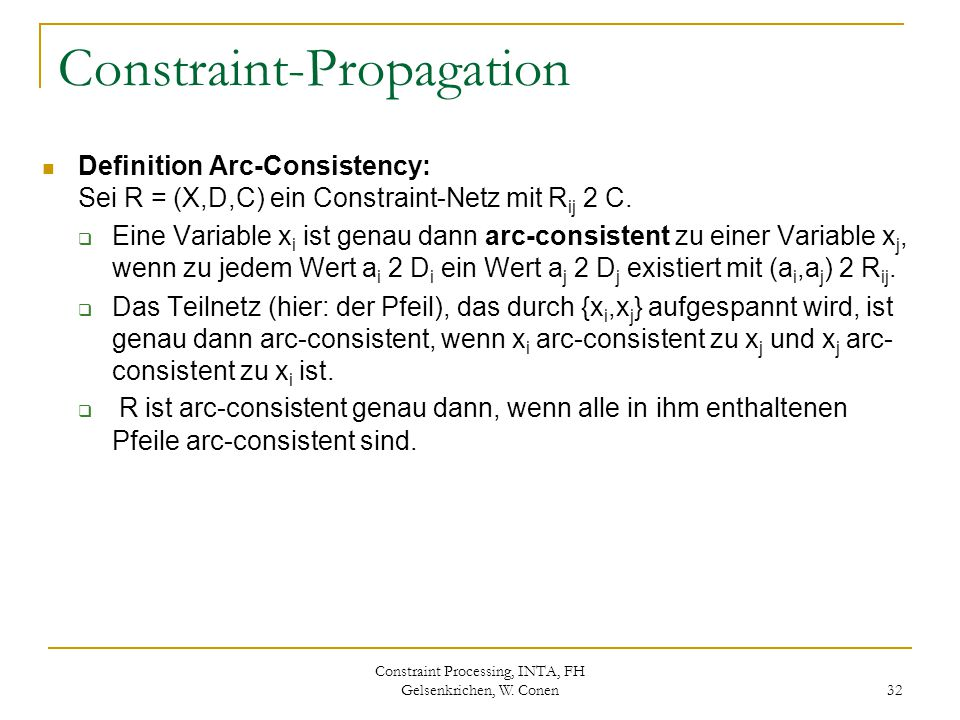 Constraint-Propagation