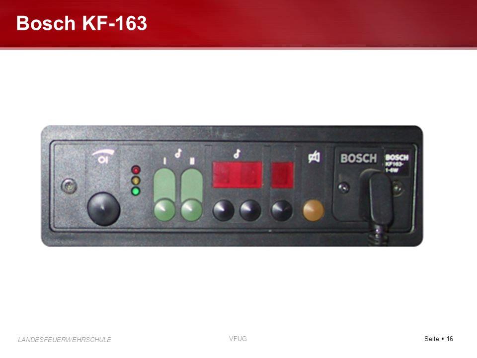 Bosch KF-163 VFUG