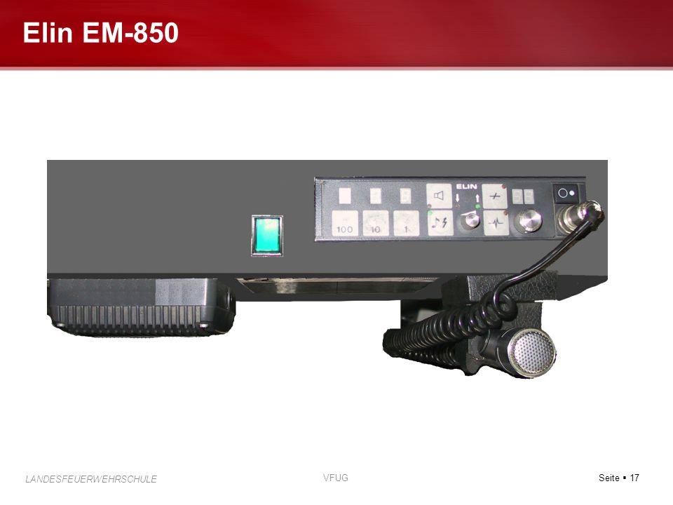 Elin EM-850 VFUG