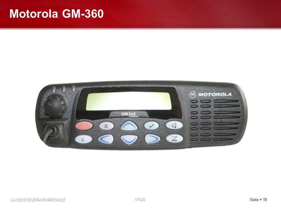 Motorola GM-360 VFUG