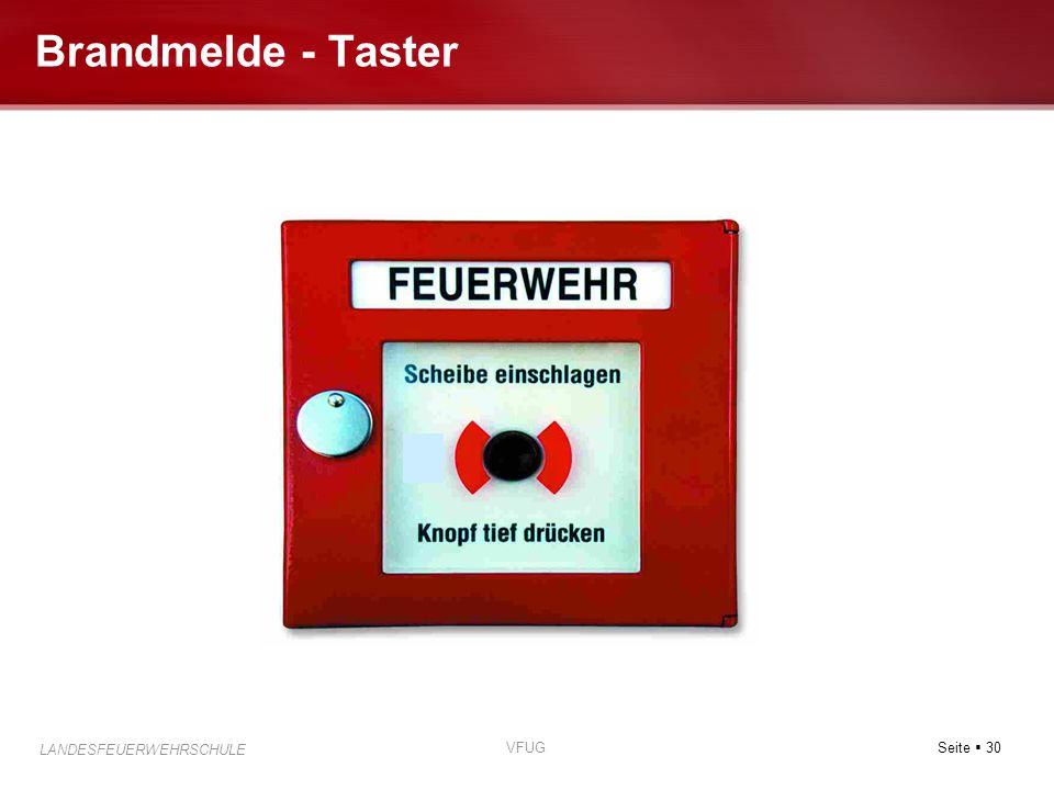 Brandmelde - Taster VFUG