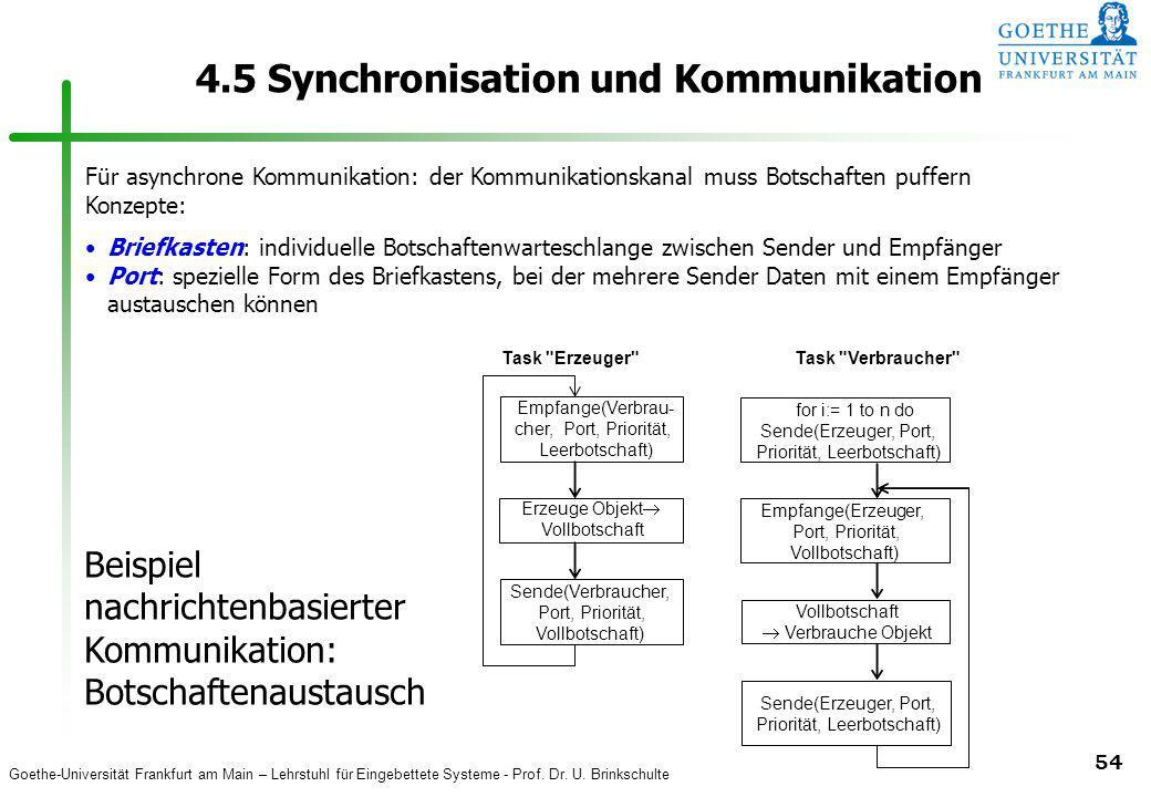 4.5 Synchronisation und Kommunikation
