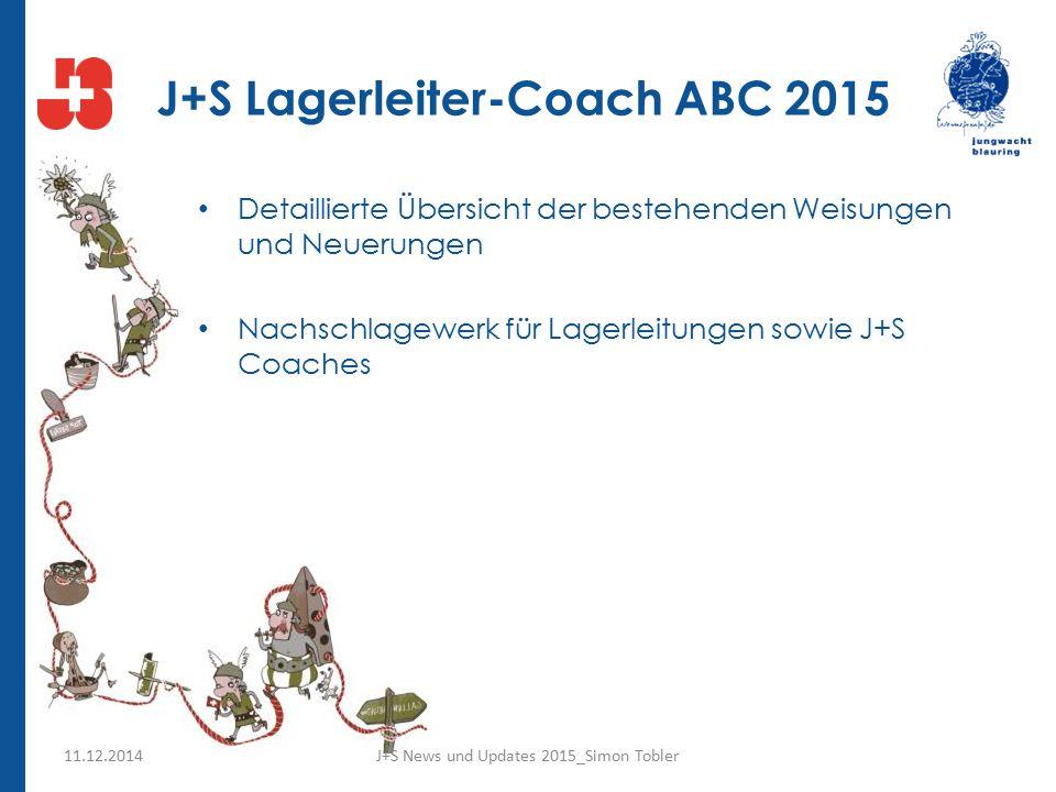 J+S Lagerleiter-Coach ABC 2015