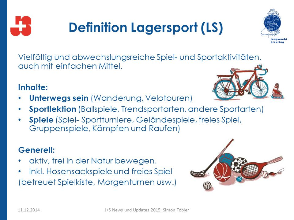 Definition Lagersport (LS)