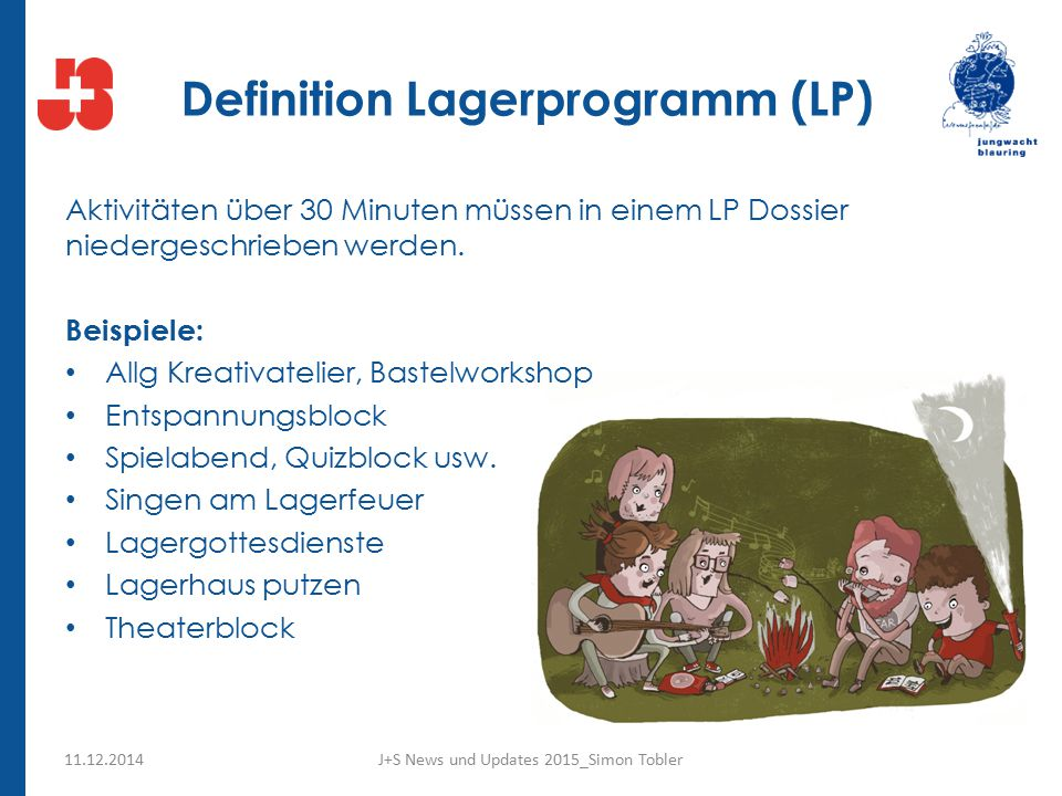 Definition Lagerprogramm (LP)