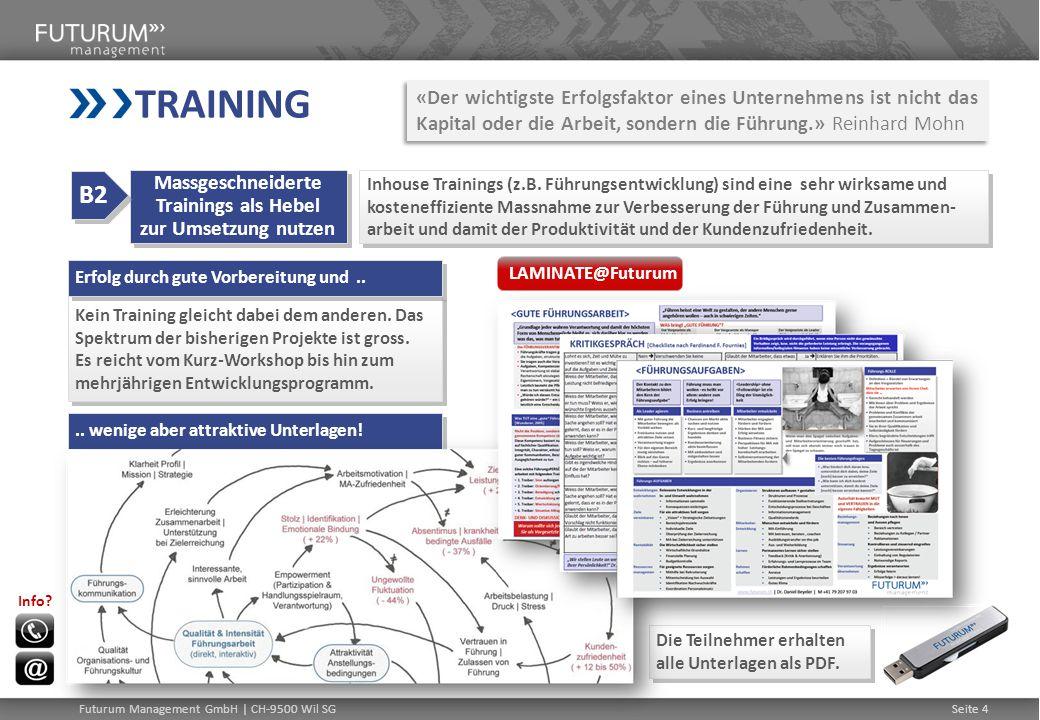 Massgeschneiderte Trainings als Hebel zur Umsetzung nutzen
