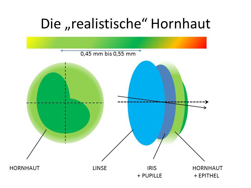 """Die """"realistische Hornhaut"""
