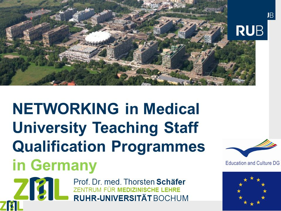 NETWORKING in Medical University Teaching Staff Qualification Programmes