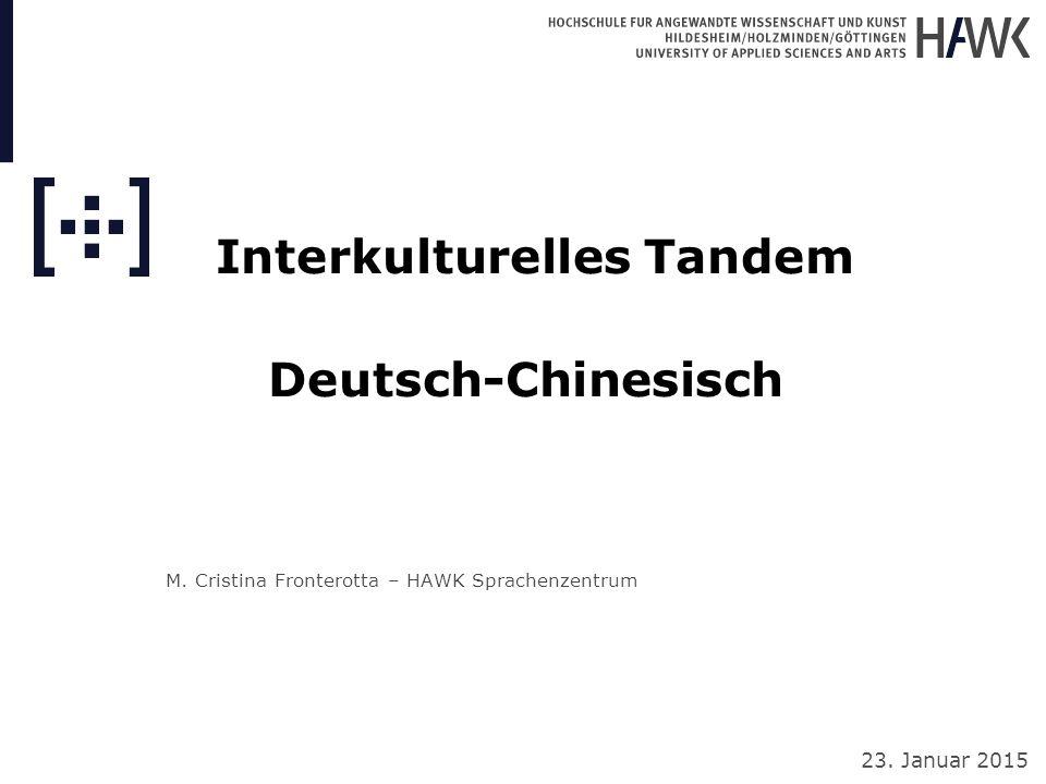 M. Cristina Fronterotta – HAWK Sprachenzentrum