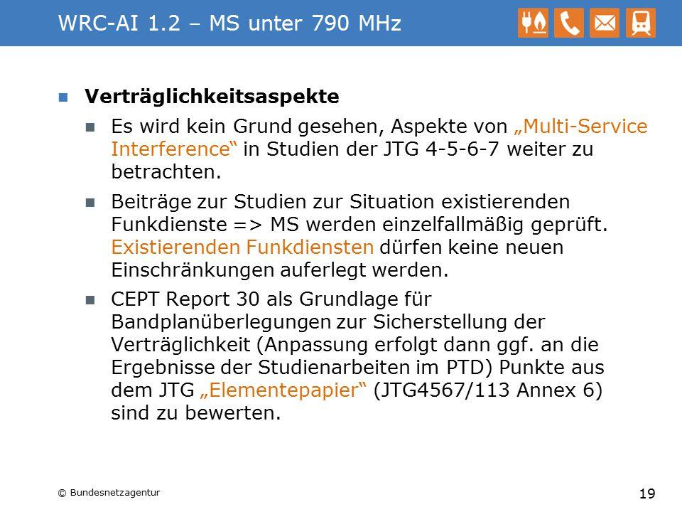 WRC-AI 1.2 – MS unter 790 MHz Verträglichkeitsaspekte