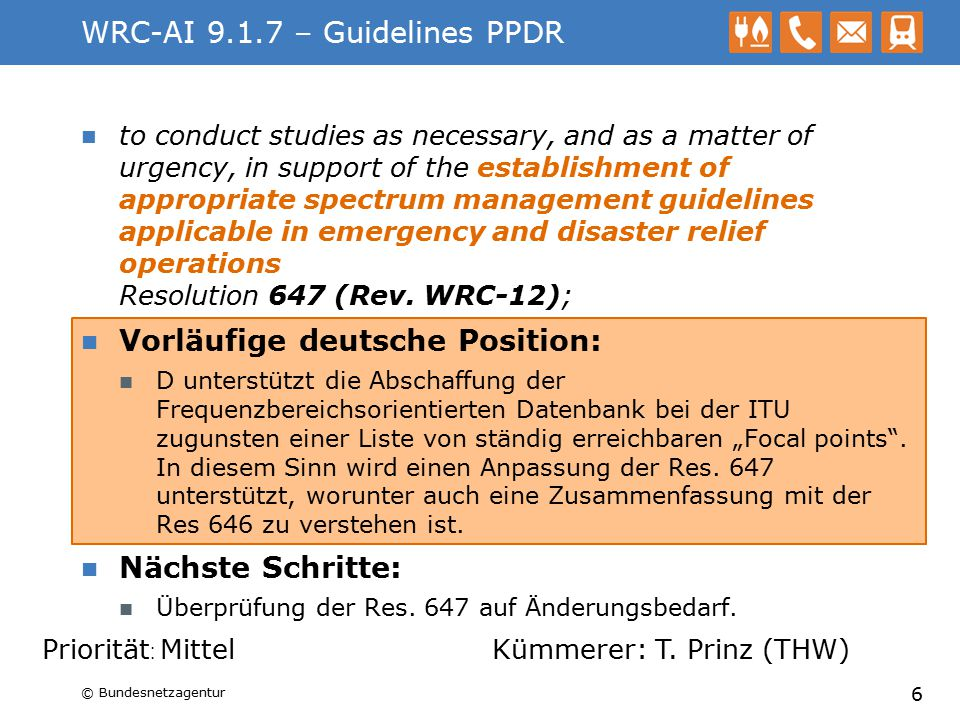 WRC-AI 9.1.7 – Guidelines PPDR