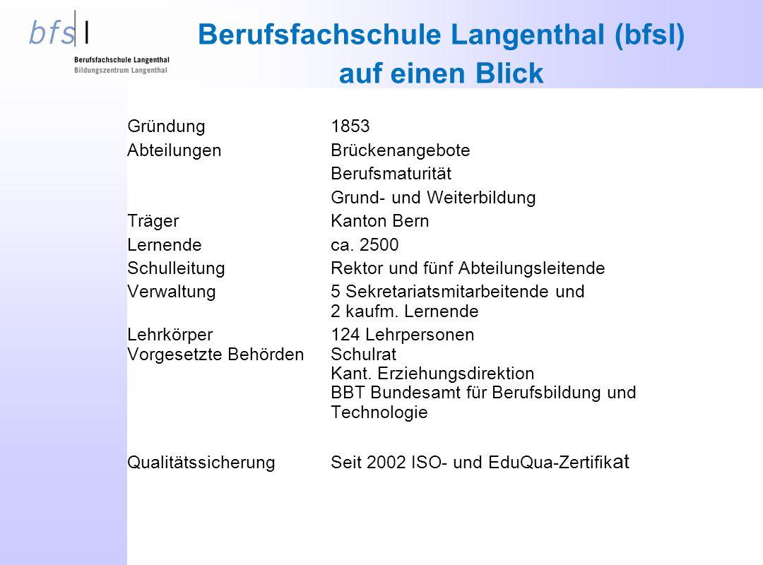 Berufsfachschule Langenthal (bfsl)