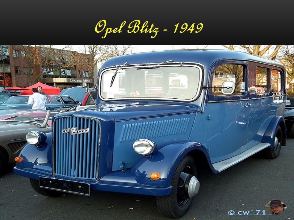 Opel Blitz - 1949