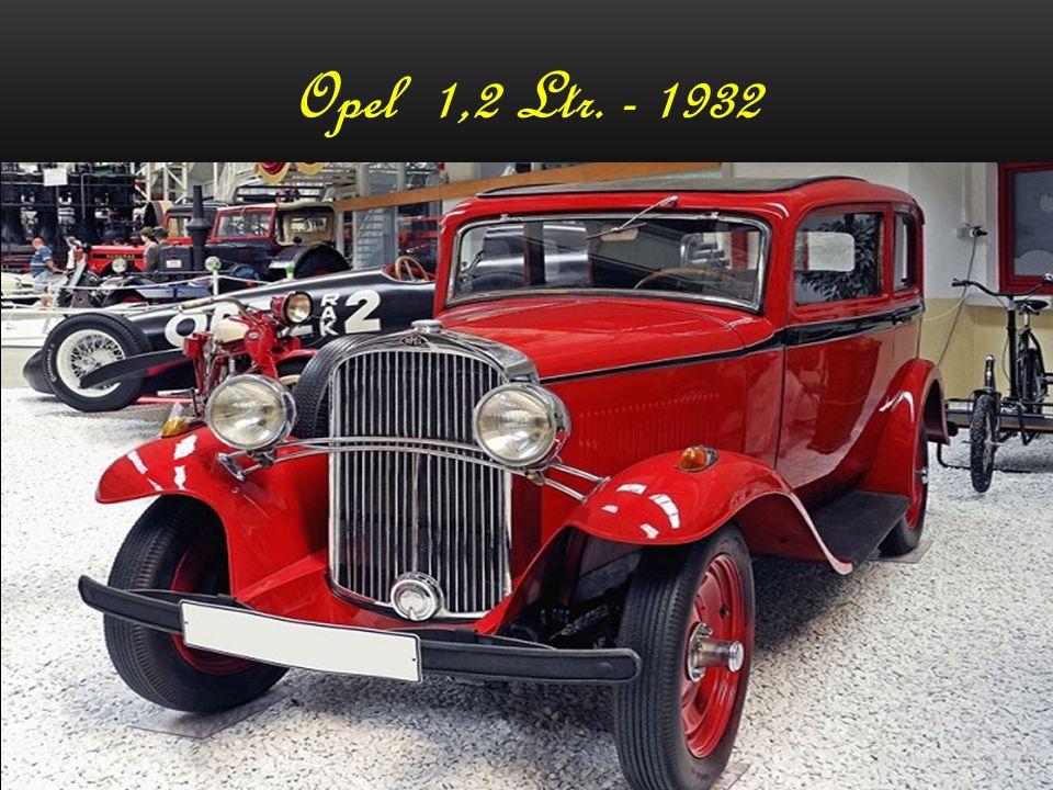 Opel 1,2 Ltr. - 1932