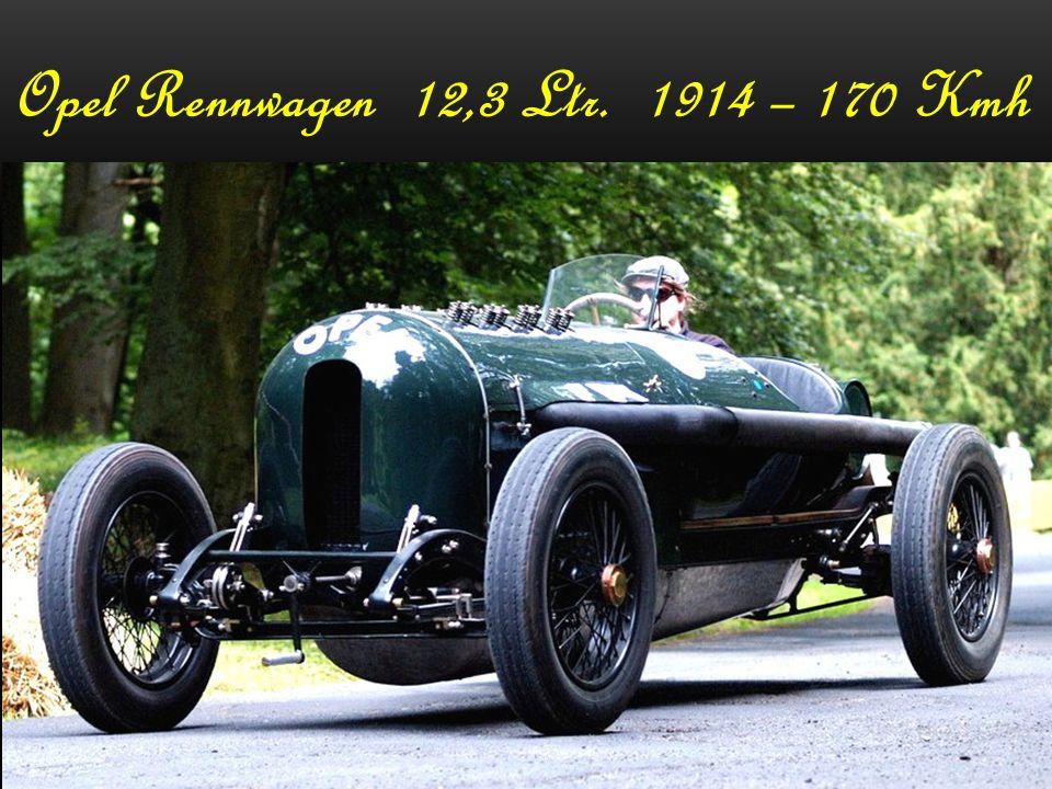 Opel Rennwagen 12,3 Ltr. 1914 – 170 Kmh